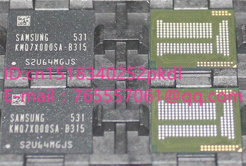 (1PCS) (2PCS) (5PCS) (10PCS)  100% new original   KMQ7X000SA-B315  BGA  Memory chip  Storage 64+8 EMCP   KMQ7X000SA B315 free shipping 1pcs lot kmq7x000sa b315 kmq7x000sa emmc
