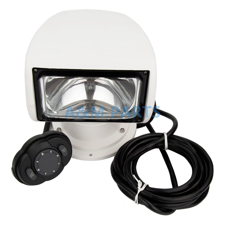 Marine Boat Spotlight Remote Control Searchlight Truck Car RV 24V 100W Bulb marine boat spotlight remote control searchlight truck car rv 24v 100w bulb