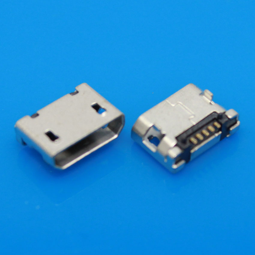Jing Cheng Da MICRO USB charging port for mobile phone tablet android Short needle Flat port Center distance 5.9mm