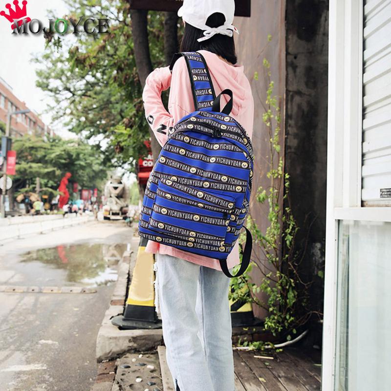 11b088718f4d MOJOYCE Backpack Striped Women Bagpack Teenagers Backpacks For Teenage Teen  Girls Youth Feminine Backpack Girl Mochila Feminina-in Backpacks from  Luggage ...