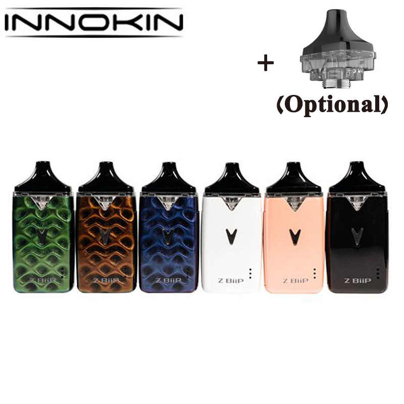 Оригинальная платформа Innokin Z-Biip комплект 1500 мАч батарея Z Biip Pod система с PLEX3D сеткой 0.48ohm катушка 2 мл Pod электронная сигарета Vape