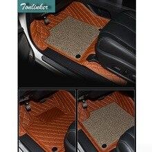 Tonlinker 3 шт. DIY автомобиля Стайлинг Новый Искусственная кожа полный объемный специальный коврик чехол Наклейки для Nissan Murano 2015 Аксессуары