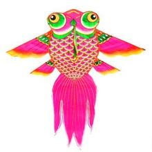 Высококачественный воздушный змей Золотая рыбка childfren love ripstop нейлон с ручкой линия Летающий выше ремесла игрушки на открытом воздухе подарки
