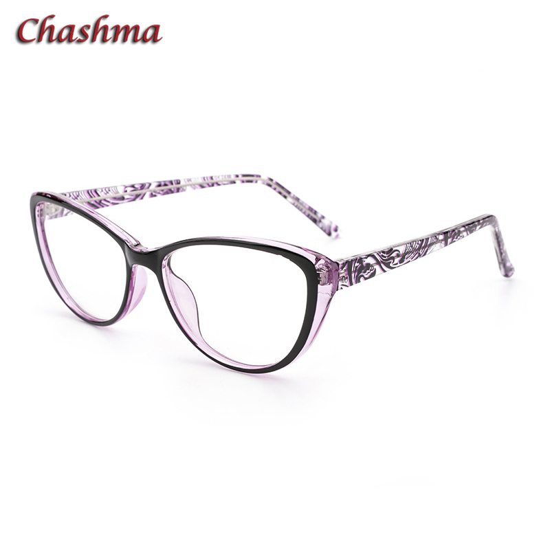 Women Degree Glasses Cat Eye Prescription Ready Glasses Anti Blue Ray Computer Working Eyewear Chameleon Lenses Photo Chromic