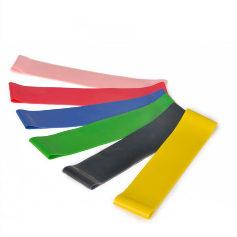 Elastic Bands For Workout Rubber Loop Latex Yoga Gym Strength Training Indoor Outdoor Fitness Equipment Yoga Resistance Bands Superior (In) Quality