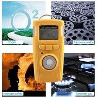HT-530 LCD Alarme do Detector de Gás Monóxido de Carbono CO Elétrica Testador de Alta Precisão Pequeno Consumo De Energia