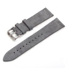EACHE Suede Design Special&Classical Genuine Leather Watchband 18mm 20mm 22mm Watch accessories Watch Straps