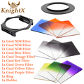 KnightX Graduated nd Filter Set for Cokin P for Nikon Canon EOS 1100D 1000D 600D 550D 500D 650d 70d d7200 lenses d90 6D camera