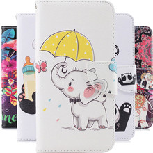 For NOKIA 1 2 3 5 elephant 3D Painted Protective Mobile Cove