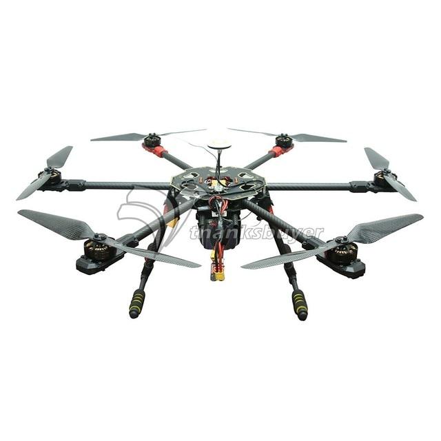 Tarot 680 Pro ARTF Hexacopter TL68P00 con Naza V2 X4108S 380KV y Sin Escobillas ESC Combo FPV Multi-Rotor