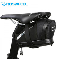 ROSWHEEL professional racing road bike saddle bag 0.4L / 0.6L lightweight water resistant bicycles seat pack accessories