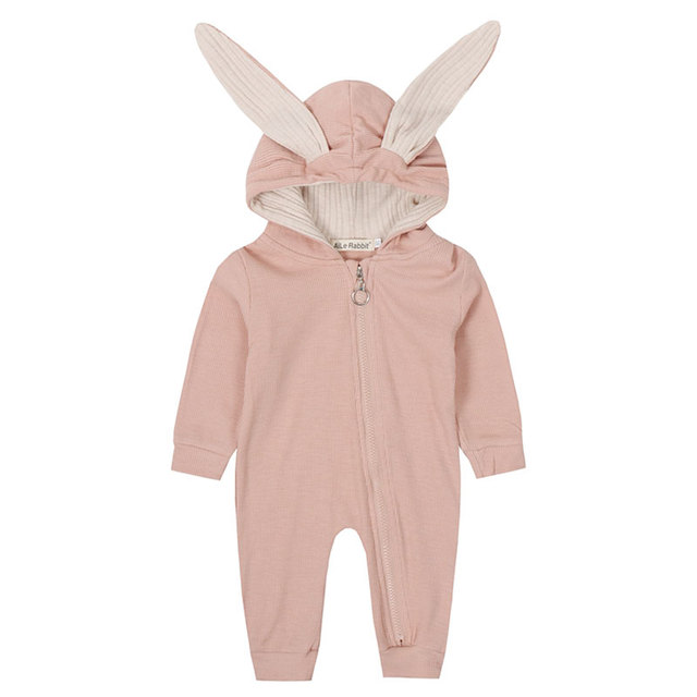 Baby Rabbit Ears Decorated Romper