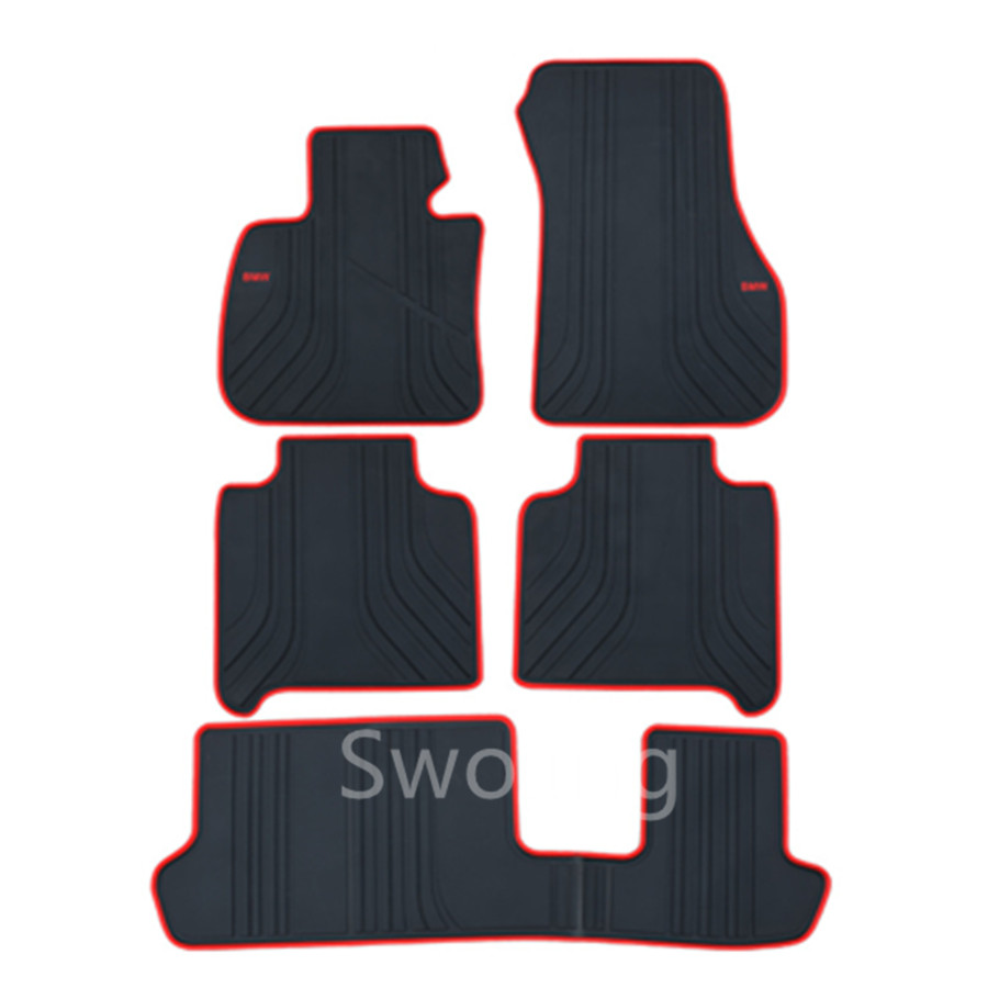 For BMW 2series GT 7seats High Quality Waterproof Anti Skip Latex Durable Carpets Special Rubber Car Floor Mats