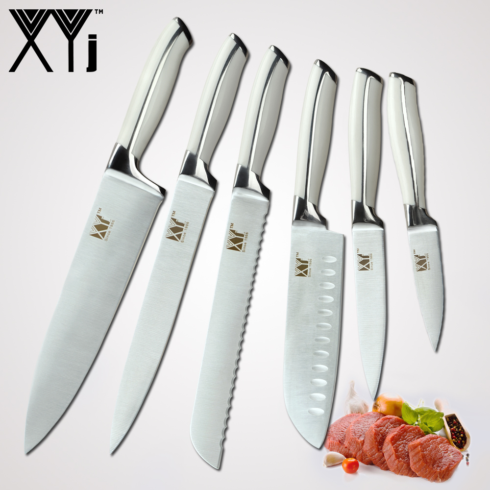 xyj japanese chef stainless steel knife kitchen knives 8