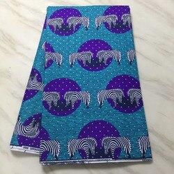 Wysokiej jakości Ankara 100% bawełna JAVA wosk z kamienia 6 6yard afryki drukuje tkaniny java wosk tkaniny na ubrania! p-3924