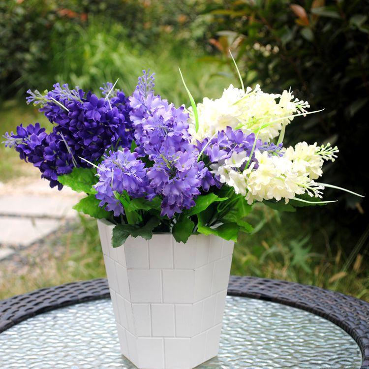 Tas de 3 grandes Mi Rose pivoines Réaliste Artificielle Luxe Fausse Soie Fleurs