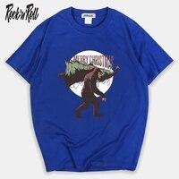 RockinRoll 2019 T Shirt Men Japanese Retro Men's Tee Shirts O neck T Shirt Cotton Simple Fashion High Street Couple Tee
