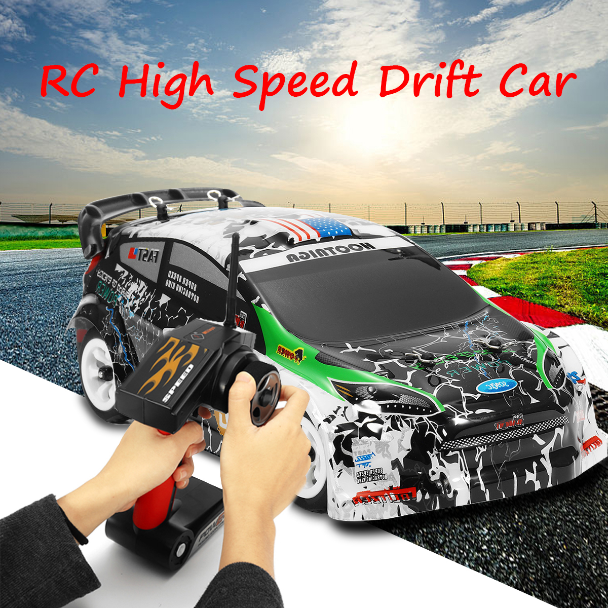 Wltoys K989 1/28 2.4G 4WD Brushed RC Rally Car RTR High Speed Radio Control Car Shockproof Explosion-proof 30 km/h EU Plug цены