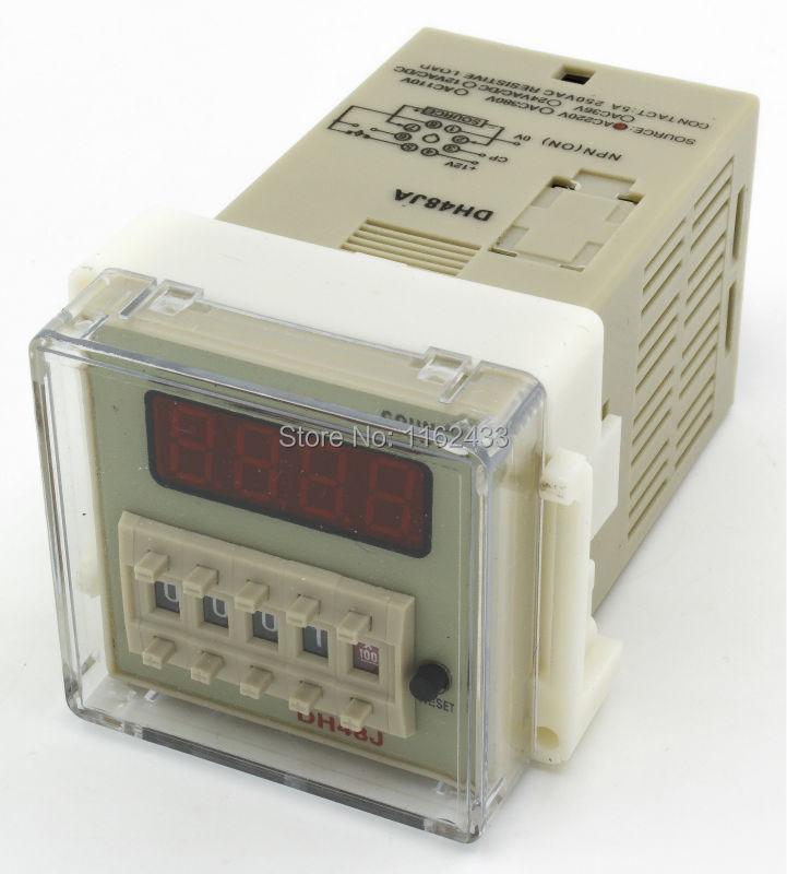 Digital Counters With Sensors : Dh ja j a pin ac v sensor input digital counter