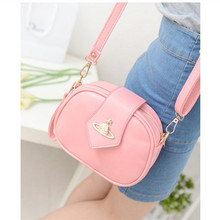 Free shipping Fashion women messenger bag for school girls hand bag with top quality PU leather femal single shoulder bags