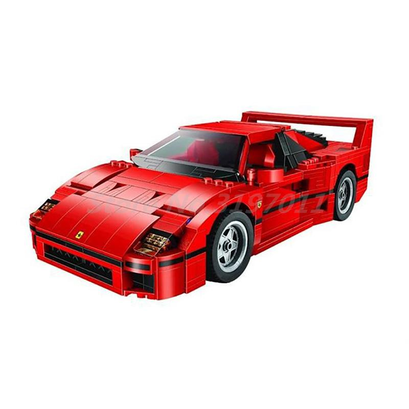 BELA 10567 1157pcs F40 Sports Car Action Model Building Blocks Kits Bricks DIY Toys For Boys Gift Compatible with 21004 lepin 21004 technic series create f40 sports car diy set model building kits blocks bricks children toys christmas gift