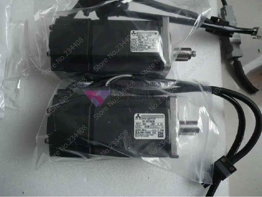 все цены на  HC-KFS43 Servo Motor 1.3NM 3000rpm 200V 2.3A 400W new  онлайн