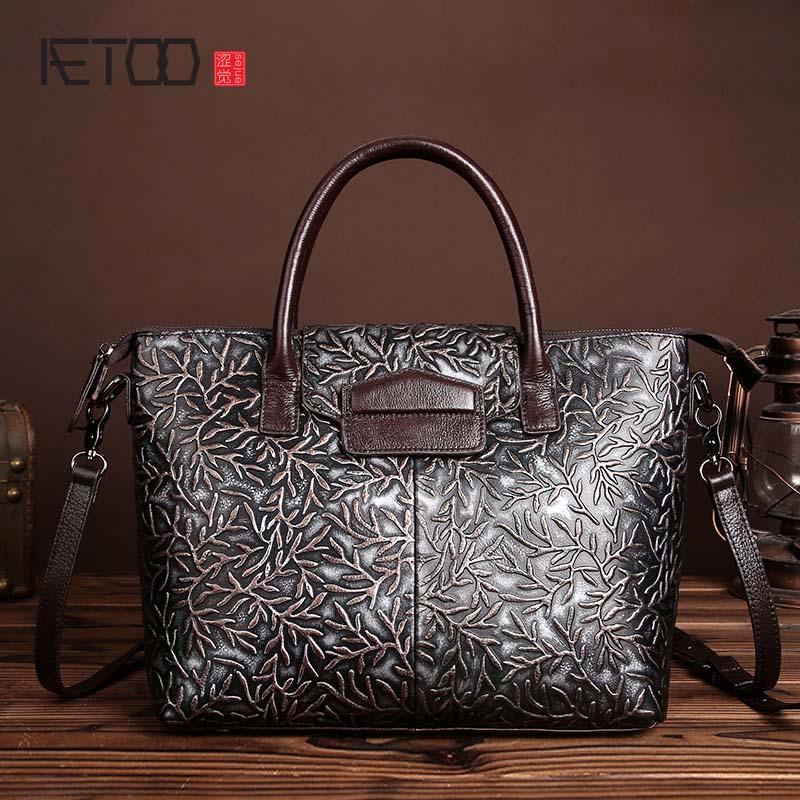 cce472c969674 Yeni fırça renk kabartmalı deri çanta retro moda bayanlar Satchel Çanta  Omuz Çantası Messenger Çanta gelgit
