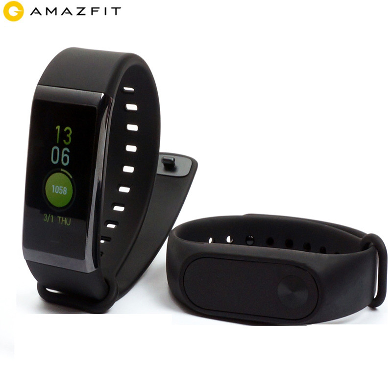 Xiaomi <font><b>Huami</b></font> English Version <font><b>Amazfit</b></font> <font><b>Cor</b></font> <font><b>Midong</b></font> Band 5ATM Waterproof with Android/iOS 4G GPS Bluetooth Sport Smart Bracelet image