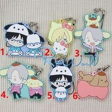 Keychain Yuri Plisetsky Ice-Anime Victor Animal-Uniform Rubber Katsuki on