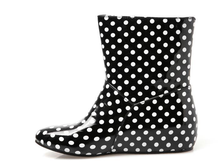 2016 puntos arco botas cortas ascensor botas de lluvia zapatos de ...