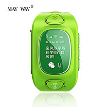 Functional GPS GSM WIFI tracker for baby kids Smart Watch with SOS Dual way call Android