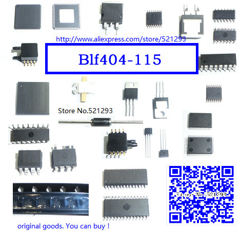 1PCS BLF404,115 TRANSISTOR UHF PWR DMOS SOT409A BLF404 404