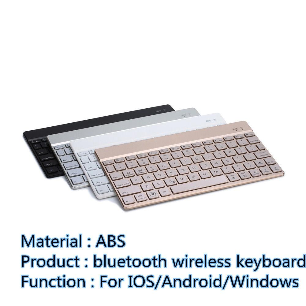 ФОТО Universal wireless keyboard for iphone/ipad/windows tablet Android keyboard English Standard bluetooth 3.0 tiny thin US keyboard