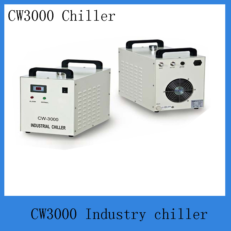 Industry chiller cw3000AG  for cooling co2 laser engraving machine tube 20-80w f01979 20 20x cw