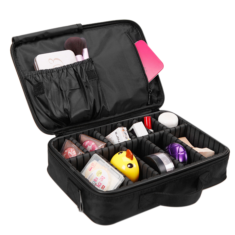ALYMLH Brand Big Cosmetic Cases Women Double Layer Professional Makeup Bag For Travel Organizer Tattoos Nail Art Tool Box Bag наушники onkyo беспроводные накладные наушники onkyo h500 универсальный пульт ду белый