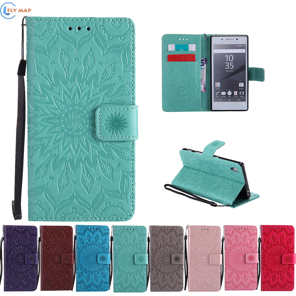 Case Cover For Sony Xperia Z5 Dual E6603 E6683 E6653 Wallet Flip Phone Leather Coque For Sony Xperia Z 5 E 6603 6683 6653 Capa
