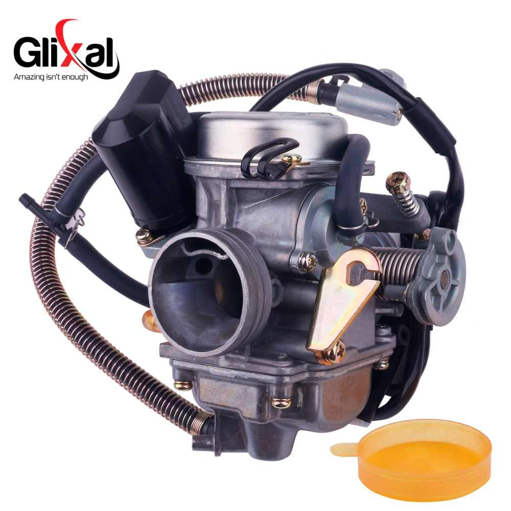 keihin cvk carburetor carb with electric choke gy6 125cc 150cc scooter moped buggy152qmi 157qmj atv go [ 1000 x 1000 Pixel ]