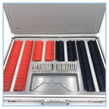 Пробный объектив Комплект 266 шт. объектив коробка для сбора доказательств Пластик обод класс качества SL-266 Алюминий чехол