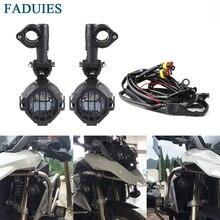 FADUIES для Мотоцикла BMW светодиодный дополнительная противотуманная дальнего света лампы мотоцикл Противотуманные фары для BMW R1200GS/ADV K1600 R1200GS R1100GS