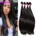Straight Virgin Hair Bundle Deals 4 Bundles Malaysian Straight Hair Cheap Bundles of Weave Natural Straight Human Hair Bundles