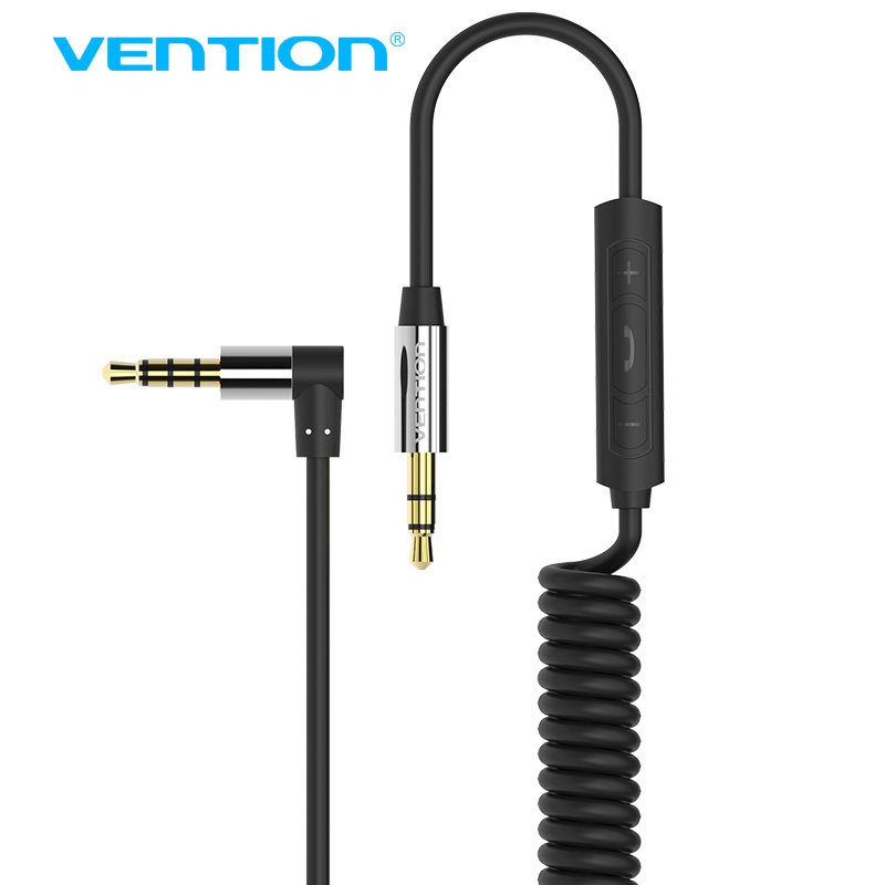 Vention 3.5mm jack audio cable 3.5mm male to male 90 degree right angle flat aux cable for car / PM4 PM3 / headphone aux cord vention male to male aux cable 3 5mm for car