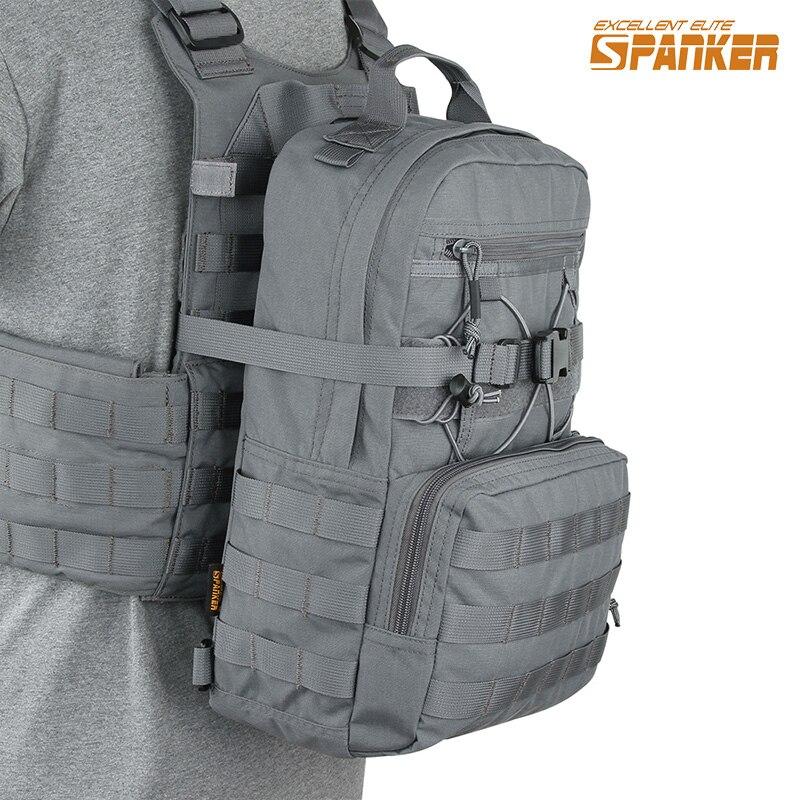 Отлично Элитные бизань тактический EDC гидратации рюкзак Открытый Охота Molle Журнал Сумка военный жилет гидратации сумки