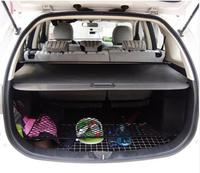 Автомобиль задний багажник щит безопасности Тенты Грузовой Обложка для Mitsubishi Outlander 2004 2005 2006 (черный, бежевый)