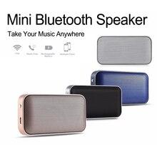 Portable Wireless Bluetooth Handsfree Speaker Mini Metal Music Sound Box Outdoor Bass Subwoofer for Smartphone doss ds 1388 metal case bluetooth speaker portable bass sound box
