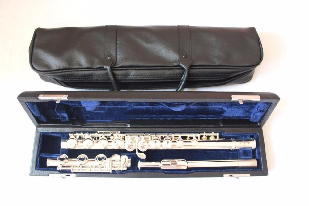 2018 high quality flute YFL-471H music instrument 17 hole E key open B music C primary flute performance free shipping2018 high quality flute YFL-471H music instrument 17 hole E key open B music C primary flute performance free shipping