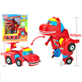 Grande Gogo Dino Deformação Carro/Avião Figuras de Ação REX Carro/Avião/Submarino/Bulldozer Transformação brinquedos do Dinossauro