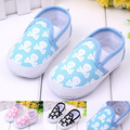 Spring summer autumn skulls baby shoes/baby soft non-slip bottom toddler shoes/free shipping