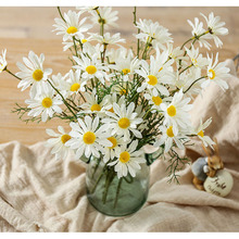 Chrysanthemum Artificial small daisy cosmos high-grade artificial flower bud wild chrysanthemum fake