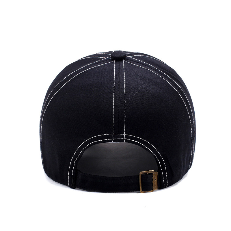 39574328bb5 Yienws Curved Brim Baseball Caps Men Bones Trucker Hats Eagle Gorra Beisbol  Hombre Adjustable Dad Hats Black Coffee Navy YIC049-in Baseball Caps from  ...