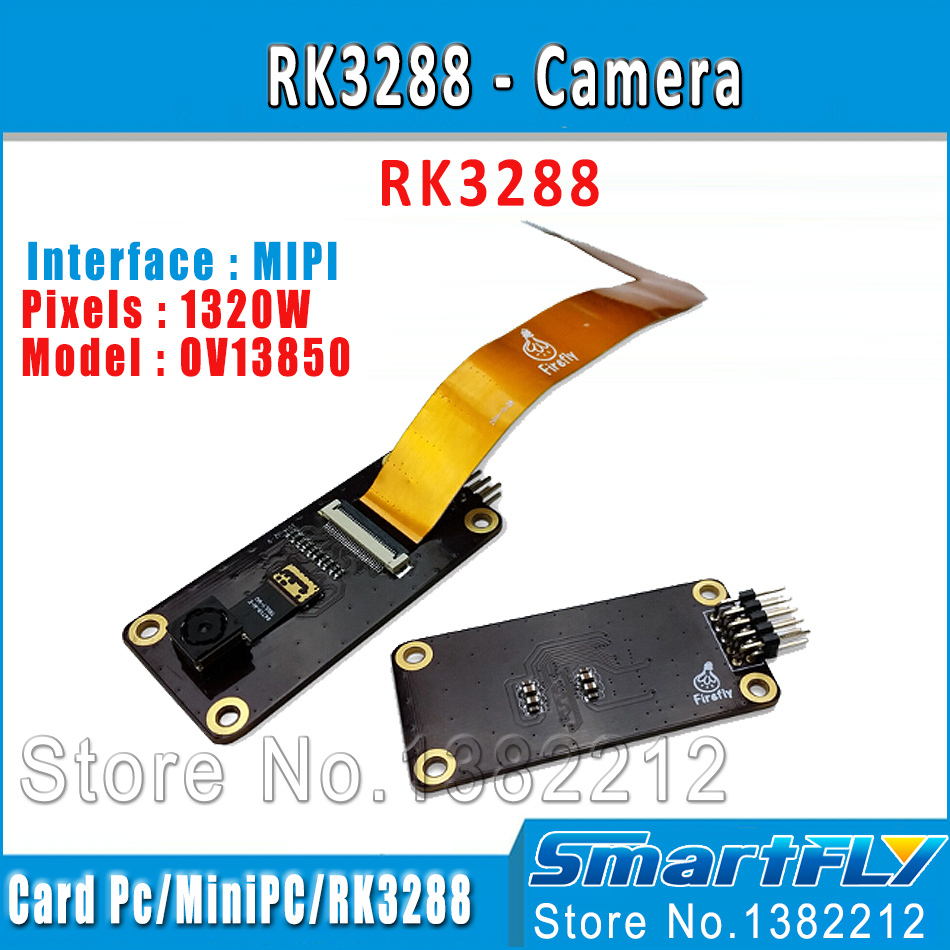 OV13850 módulo de cámara MIPI 1320 W píxeles trabajar con Firefly-RK3288/RK3399 Placa de desarrollo